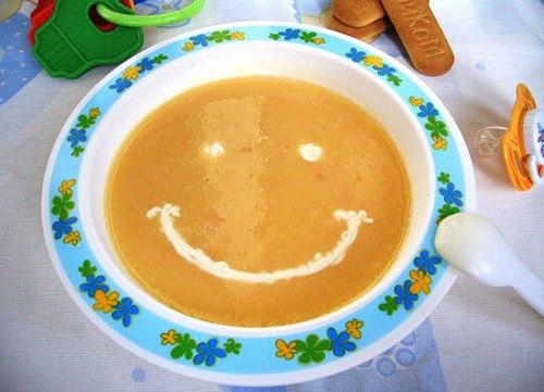 Рецепты суп-пюре для ребенка